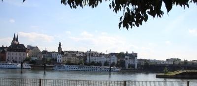 Koblenz, Altstadt vom Moselufer