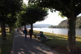 Rheinpromenade in Andernach