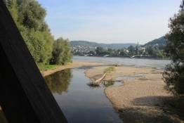 An der Mündung der Ahr in den Rhein
