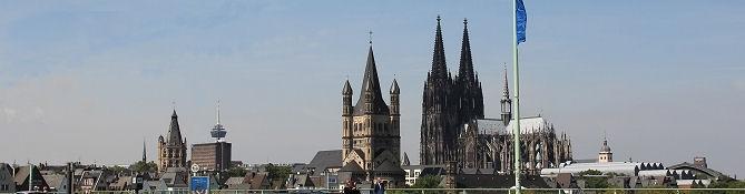 Köln, Skyline der Altstadt