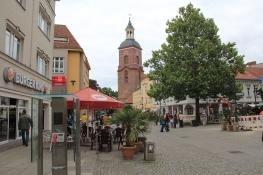Spandau - Fußgängerzone und Reformationskirche