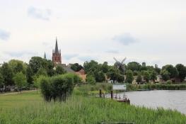 Blick auf Werder