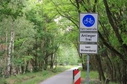 Fahrrad-Straße