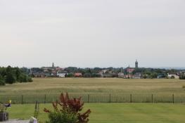 Blick auf Wittenberg