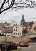 Blick über die Saale zur Altstadt