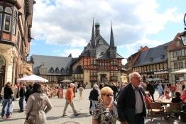 Wernigerode Markt und Rathaus