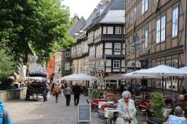Goslar neben der Marktkirche St. Cosmas und Damia