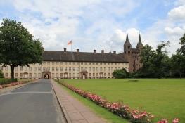 Schloss Corvey Innenhof