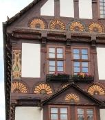 Höxter Rathaus Gebäudedetail