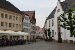 Warendorf am Markt mit Rathaus