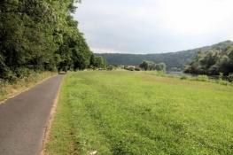 Fulda-Radweg bei Guxhagen