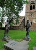 Bad Hersfeld, Denkmal für Duden und Zuse