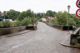Alte Saale-Brücke in Euerdorf