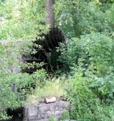 Wasserrad der Schlossmühle in Unsleben