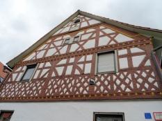 Fachwerkgiebel in Eussenhausen