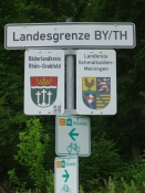 Landesgrenze Bayern/Thüringen