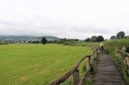 Werra-Radweg bei Heringen