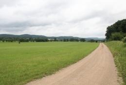 Werra-Radweg bei Gerstungen