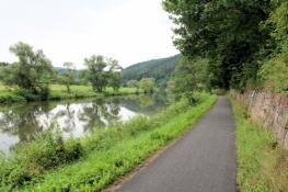 Fulda-Radweg bei Wahnhausen