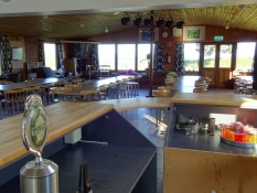 Festlokalet på Solbakken Camping/The party room at Solbakken Camping