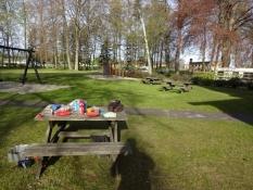 Morgenmad på Charlottsborg Camping/Breakfast at Charlottsborg camping