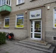 Veloma cykelbutik i Klaipeda ordnede mit gear/I had my speeds adjusted at Veloma bike repair shop