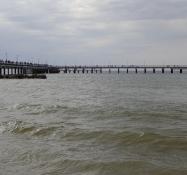 Den lange mole i Palanga. Uden forlystelser/Palangaʹs long pier. Without amusements