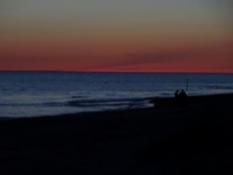 Smuk aften på stranden/A beautiful evening on the beach
