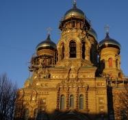 Sankt Nikolaj Maritime katedral i Karosta/Saint Nicholas Maritime Cathedral in Karosta
