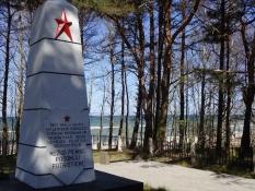 Nazisterne dræbte også russiske krigsfanger her/The Nazis also killed many Soviet POWʹs here