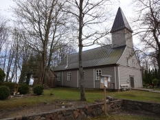 Kirken i Klapkalnciems/The church of Klapkalnciems