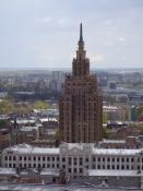 Videnskabernes Akademi i stalinistisk kransekagestil/The Academy of Sciences in Stalinist style