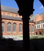Stemningsbillede fra korsgangen/word picture from the cloister