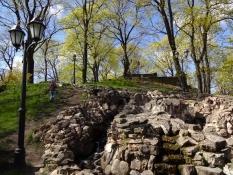 Rigas gamle volde og befæstninger er en park i dag/Rigaʹs old ramparts and fortifications are a park