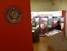 Udstillingen viser Sovjetunionens besættelse/The exhibition shows the Soviet Unionʹs occupation