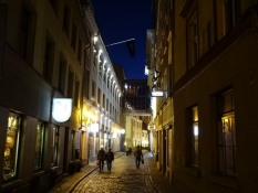 Sen fodtur igennem Rigas gader/From my late night stroll through the streets of Riga