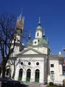 Katarina-kirken i Pärnu har navn efter zarina Katharina II/Katarina church in Paernu