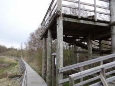 Fugletårnet var handicapvenligt og flot/The bird watchtower was disabled-friendly and well built