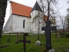 Maria Magdalene-kirken i Ridala/Mary Magdalen church at Ridala