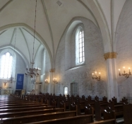 Her er jeg inden i kirken/And here I am inside the church