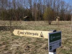 Det estiske friluftsråd RMK driver en række naturlejrpladser/The nature camp site is run by the RMK
