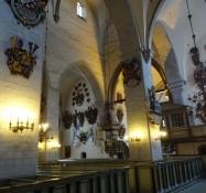 Den blev færdigbygget i 1240 og viet til jomfru Maria/It was completed in 1240