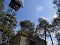 Tidligere sovjetisk observationspost med tårn/Former Soviet observation tower