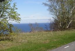 Dejlig vej langs med kysten/A lovely road along the coast