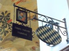 Det kongelige stambords skilt i Hofbräuhaus