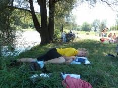 Middagssøvn på en eng ved Isar