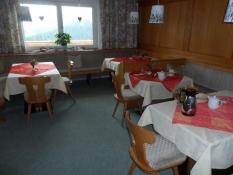 Morgenmadsrummet på Schrofenwies