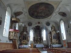 Pause i kirken i Schoppernau