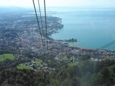 Og udsigten over Bregenz og Bodensee er betagende.