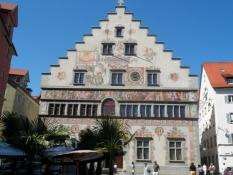 Rådhuset i Lindau er smukt dekoreret.